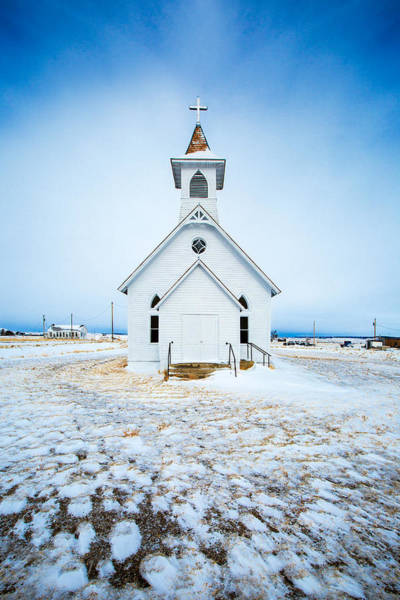 Protestant Photograph - Winter Worship by Todd Klassy