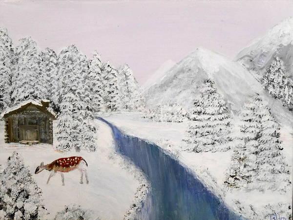 Painting - Wintertime by Bernd Hau