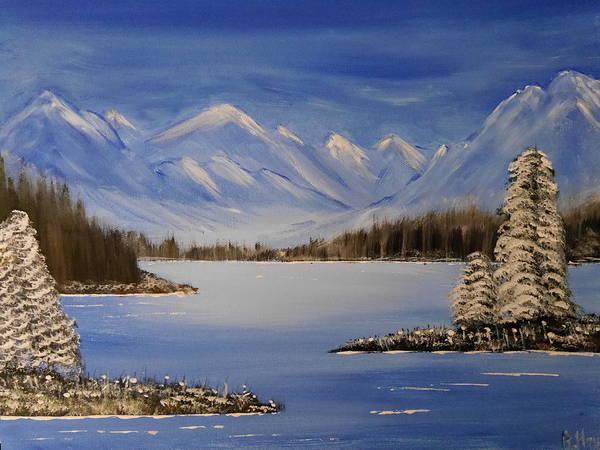 Painting - Winterlake by Bernd Hau