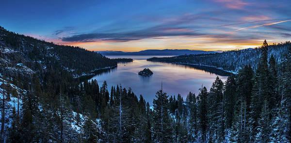 Emerald Bay Photograph - Winters Awakening - Emerald Bay By Brad Scott by Brad Scott