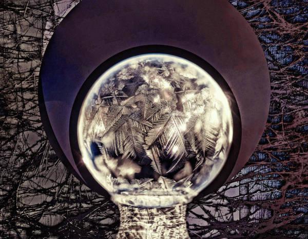 Mixed Media - Winter's Frozen Fractals by Susan Maxwell Schmidt