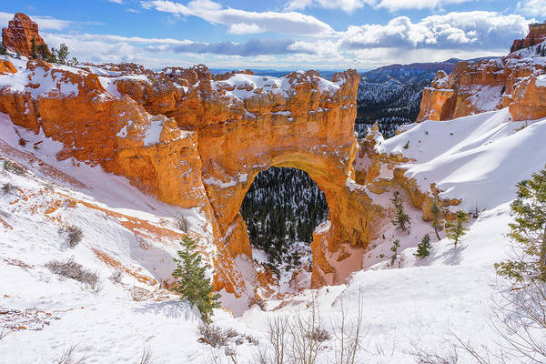 Photograph - Winter's Gate by Ryan Moyer