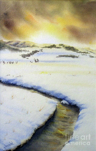 Painting - Winter's Light by Glenyse Henschel