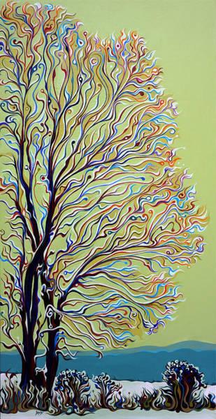 Painting - Wintertainment Tree by Amy Ferrari