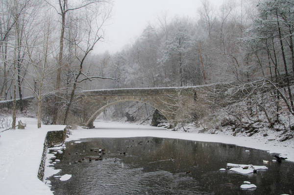 Photograph - Wintertime In The Wissahickon Valley by Bill Cannon