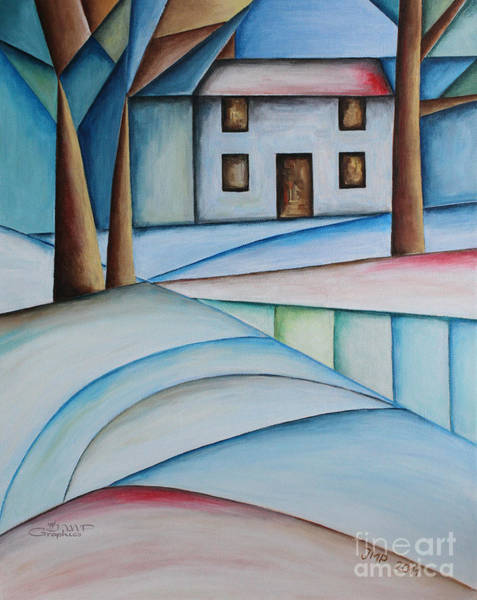 Painting - Wintertime by Jutta Maria Pusl