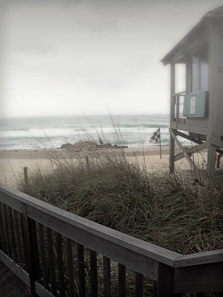 Photograph - Wintery Beach Morning by Julie Palencia