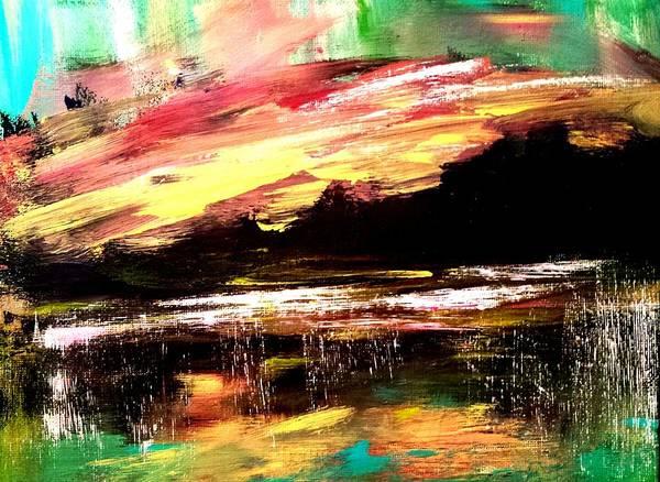 Painting - Wintry Morning by Nikki Dalton