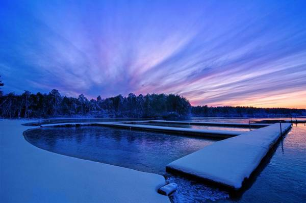 Cachalot Wall Art - Photograph - Wintry Waterfront by Dennis Wilkinson