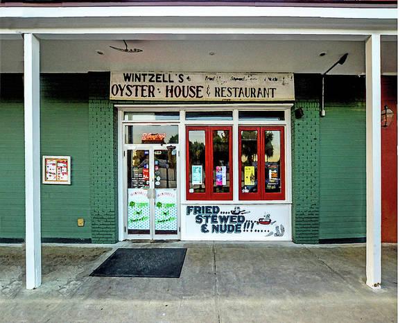Digital Art - Wintzells Front Door In Mobile Alabama by Michael Thomas