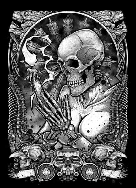 Sorcery Drawing - Winya No. 26 by Winya Sangsorn