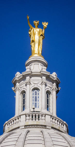 Photograph - Wisconsin - Atop The Capitol, Madison  by Steven Ralser