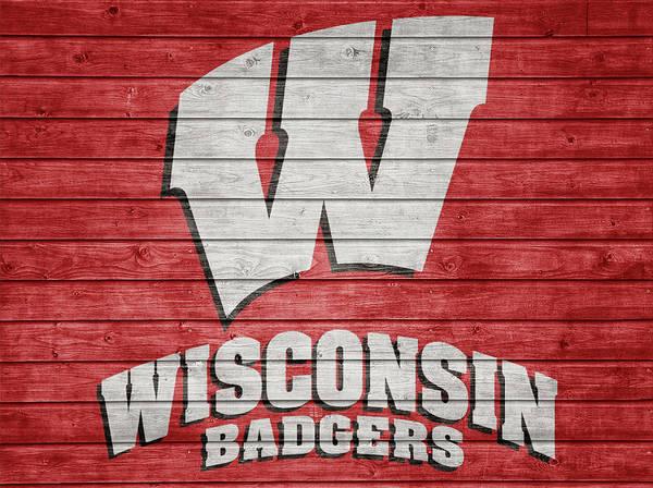 Mixed Media - Wisconsin Barn Door by Dan Sproul