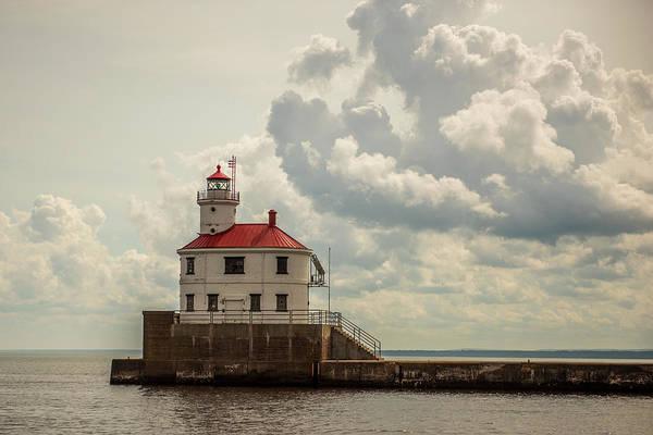 Wall Art - Photograph - Wisconsin Point Lighthouse by Paul Freidlund