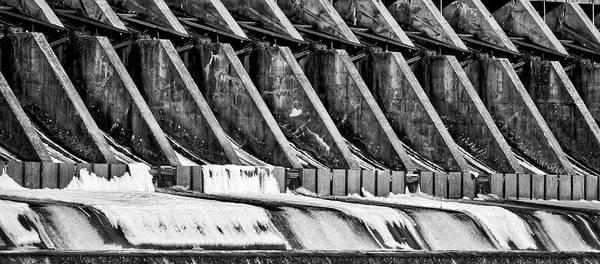 Photograph - Wisconsin River Dam by Steven Ralser