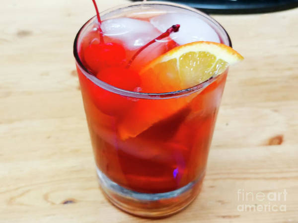 Photograph - Wisconsin Style Brandy Old Fashioned by Ricky L Jones