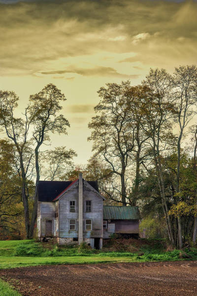 Photograph - Wiscoy Farmhouse by Guy Whiteley