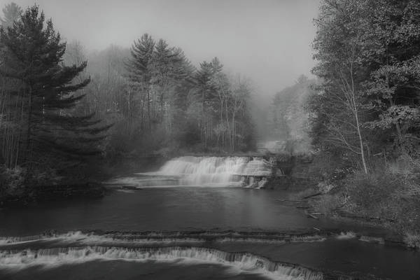 Photograph - Wiscoy In The Fog by Guy Whiteley