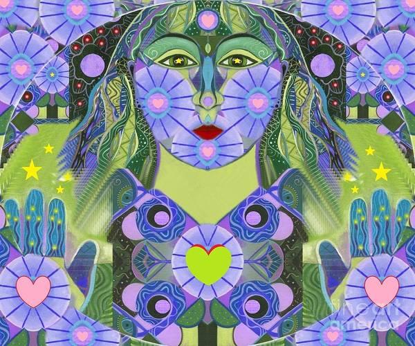 Digital Art - Wisdom Rising by Helena Tiainen