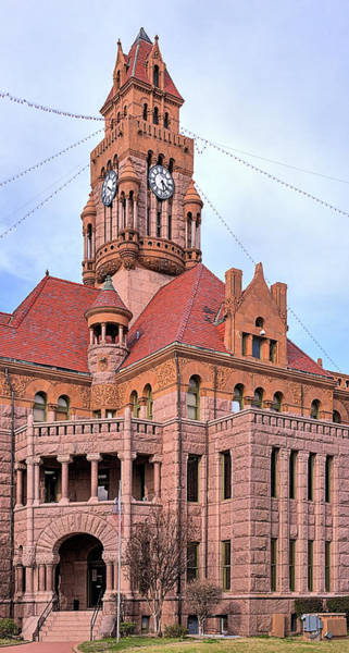 Wall Art - Photograph - Wise County Courthouse by JC Findley