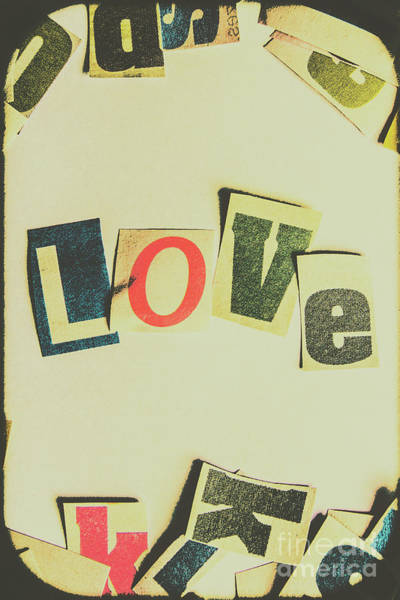 Love Notes Wall Art - Photograph - Wisest Word Of Them All by Jorgo Photography - Wall Art Gallery