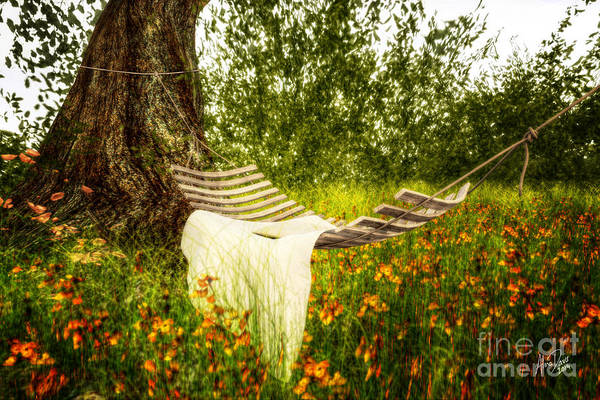 Tigerlily Wall Art - Digital Art - Wish You Were Here 140629 by Alina Davis