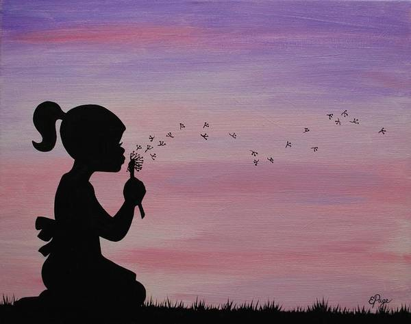 Painting - Wishes by Emily Page