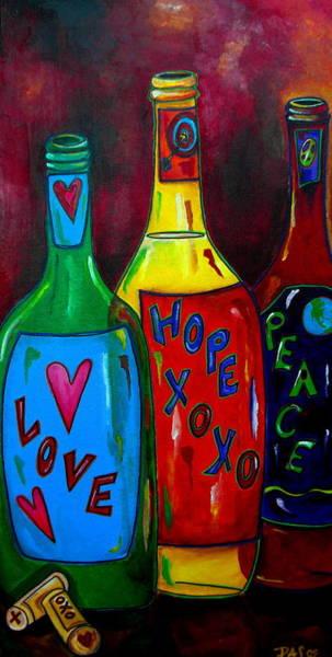Painting - Wishful Wine by Patti Schermerhorn
