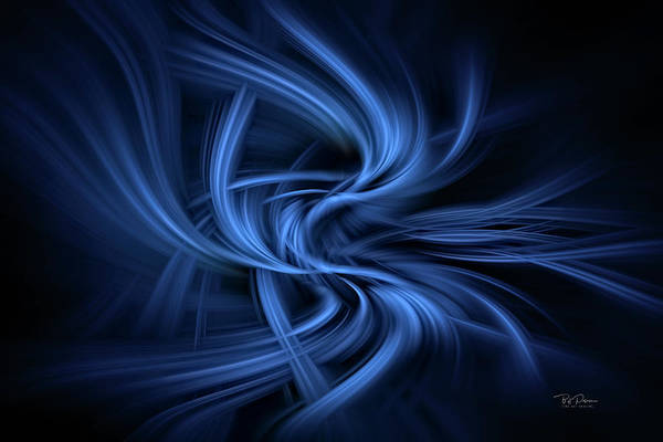 Digital Art - Wisps Of Blue by Bill Posner