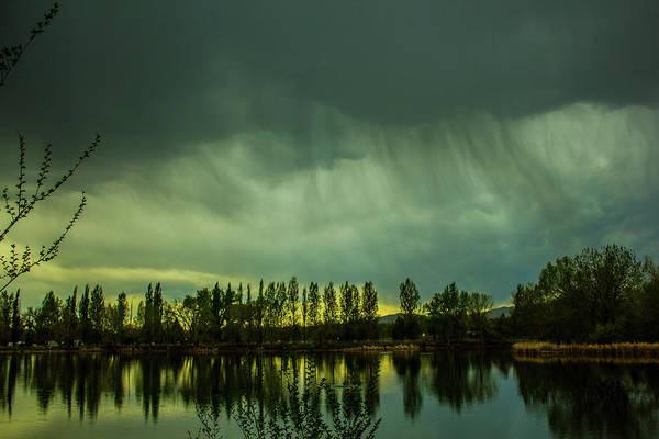 Photograph - Wispy Raindrops by Tyson Kinnison