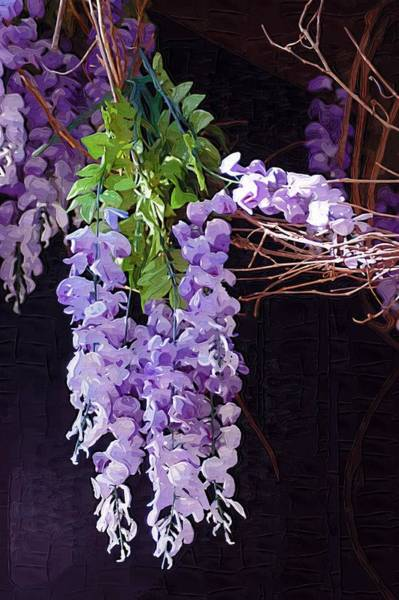 Photograph - Wisteria by Donna Bentley