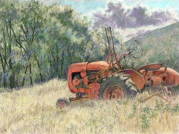 Digital Art - Wistful Colorized by David King