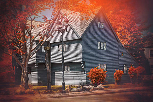 Wall Art - Photograph - Witch House Salem Massachusetts  by Carol Japp
