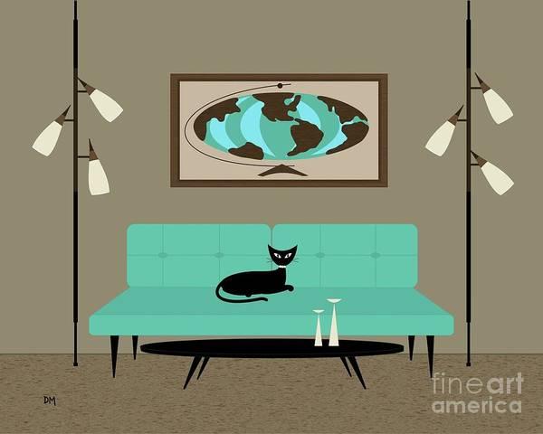 Digital Art - Witco World by Donna Mibus