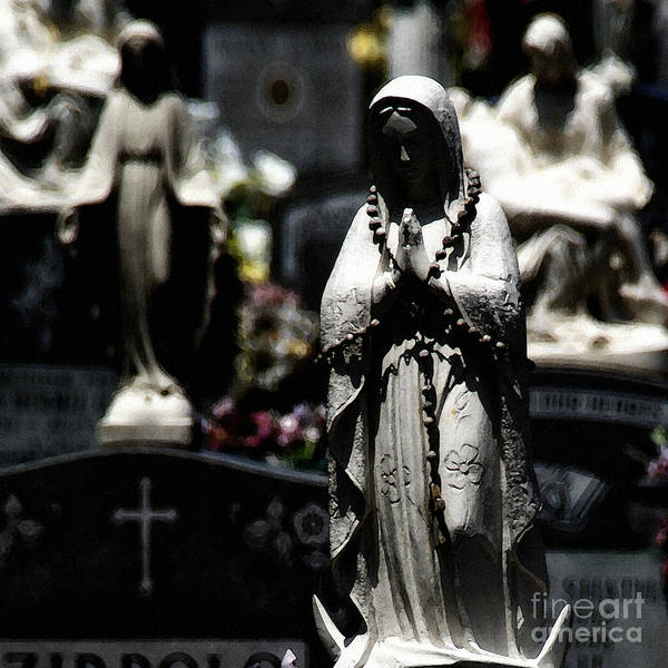 Photograph - With Every Bead A Prayer by Linda Shafer