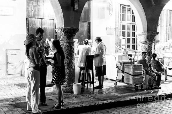 Photograph - With Friends In Cartagena by John Rizzuto