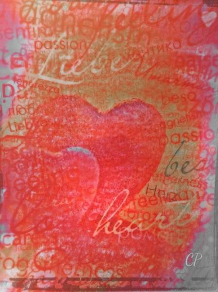 Mixed Media - With Heart by Christine Paris