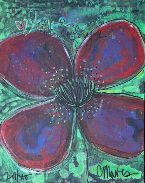 Painting - With Love For You by Laurie Maves ART