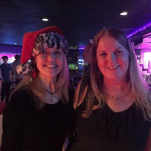Photograph - With My Very Favorite Yoga Teacher by Melissa Abbott