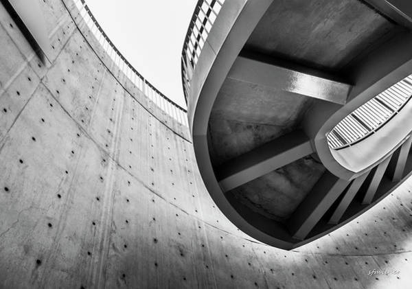 Photograph - Without Gravity - Architectural Abstract by Steven Milner