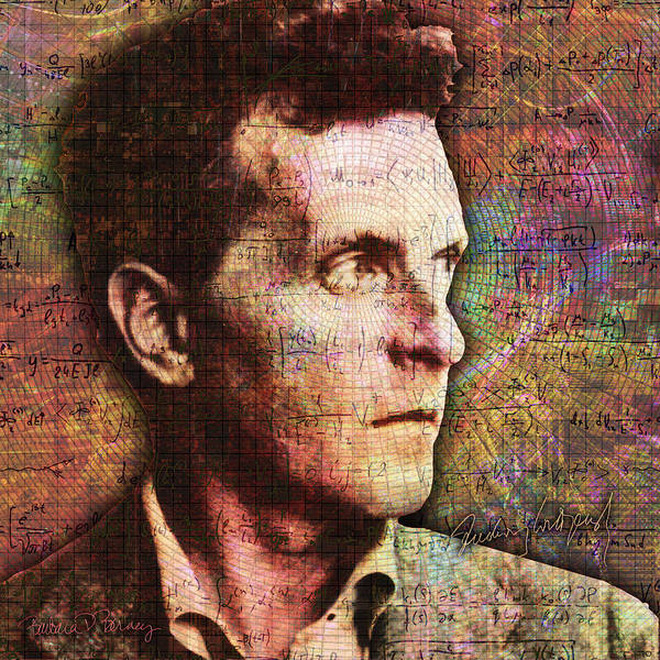 Digital Art - Wittgenstein by Barbara Berney