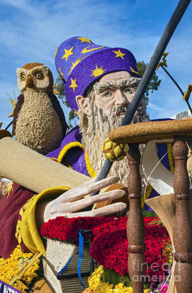 Tournament Of Roses Photograph - Wizard And The Owl by David Zanzinger