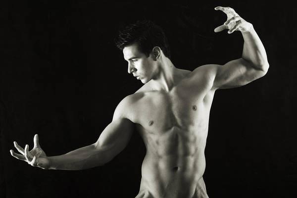 Figure Study Photograph - Wizard by Thomas Mitchell