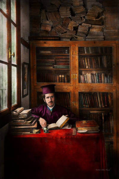 Photograph - Wizard - Wizard In Training 1898-1946 by Mike Savad
