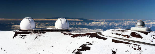 Photograph - W.m. Keck Observatories by Christopher Johnson