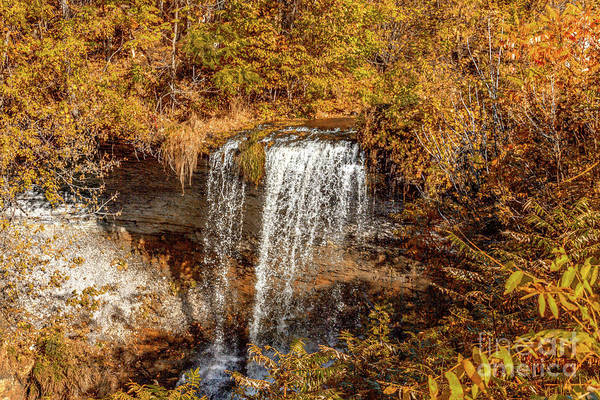 Photograph - Wolcott Falls Ledge by William Norton