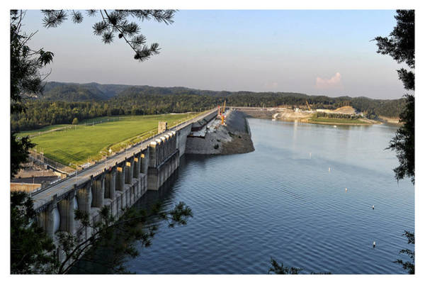 Wall Art - Photograph - Wolf Creek Dam by Amber Flowers