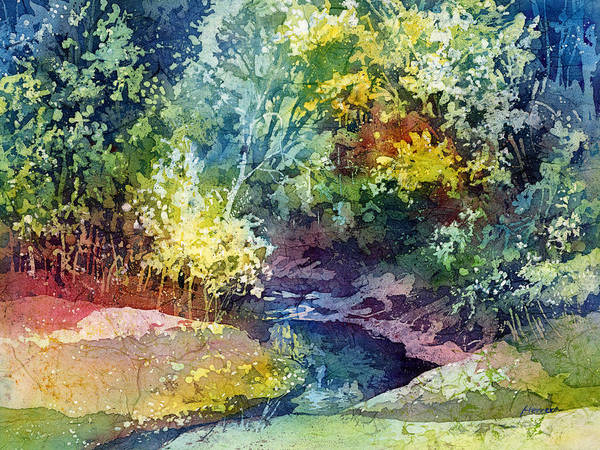 Natural Wall Art - Painting - Wolf Pen Creek by Hailey E Herrera