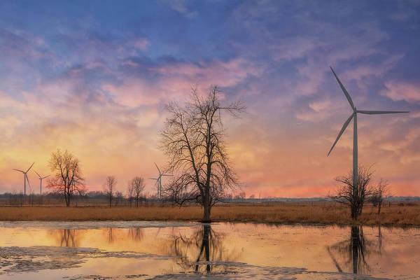 Photograph - Wolfe Island Sunset by Tracy Munson