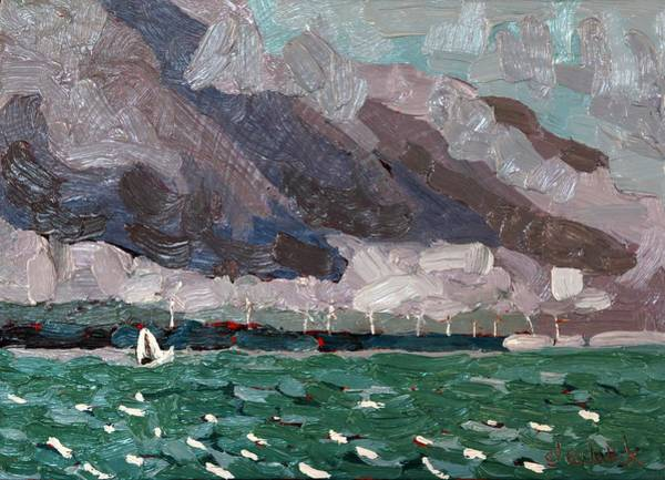 Stratocumulus Painting - Wolfe Winds by Phil Chadwick